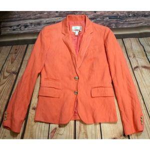J. Crew Schoolboy Two Button Classic Blazer Jacket